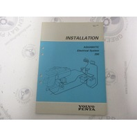 5306 Volvo Penta Installation Manual Aquamatic 290 Electrical System 1984
