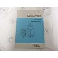5307 Volvo Penta Installation Manual Aquamatic 290 Engine 1984