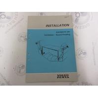 5308 Volvo Penta Installation Manual Aquamatic 290 Ventilation 1984
