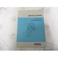 5309 Volvo Penta Installation Manual Aquamatic 290 Sterndrive 1984