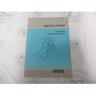 5309 Volvo Penta Installation Manual Aquamatic Sterndrive 1984