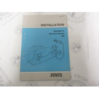 5306 Volvo Penta Installation Manual Aquamatic 290 Electrical 1985