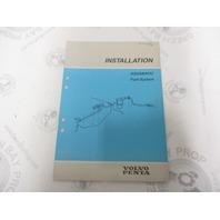 7732705-4 Volvo Penta Installation Manual Aquamatic Fuel System 1989