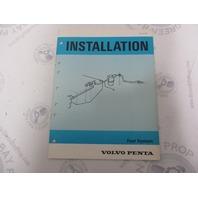 5193 Volvo Penta Installation Manual Aquamatic Fuel System