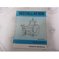 5195 Volvo Penta Installation Manual Aquamatic Engine