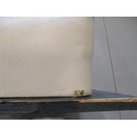 1991 Bayliner Capri Marine Boat White Rear Jump Seat Cushions Set