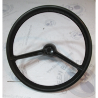 "Vintage '72 OMC Evinrude Johnson Marine 14 3/4"" Steering Wheel 19 Spline 2 Spoke"