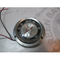 "Vintage Aqua Meter Marine Boat Speedometer Speedo 5-45 MPH 4 1/4"""
