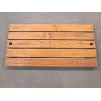 "1989 Four Winns 200 Horizon Teak Wood Ski Deck Hatch Cover 31"" X 15 1/4"""