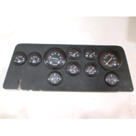 Dash Panel Quicksilver Gauges Instrument Cluster For Mercury Dual Outboard Setup