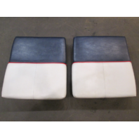 "1990 Bayliner Capri Boat Stern  Rear Jump Seats 22 1/4"" x 22"" Set"