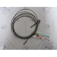"33054007 Boat Marine Starcraft Rear Lifter Cable 195-1/2 w/4"" Eyebolt"