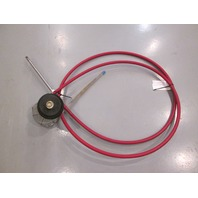 D304411-168 Morse Red Jacket 14' Marine Boat Rotary Steering Cable & Helm