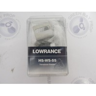 HS-WS-SS Lowrance Eagle Fishfinder Stainless SkimmerTransducer Bracket 99-06