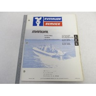 5390 Evinrude Electric Outboard Service Manual 1978