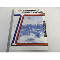 5425 Evinrude 1979 Outboard Service Manual 6 HP