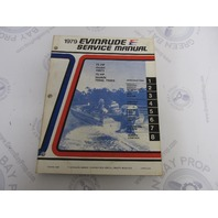 5429 Evinrude 1979 Outboard Service Manual 70-75 HP