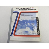 5431 Evinrude 1979 Outboard Service Manual V-6 150-235 HP