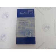 LIT-18559-94-02 Yamaha Outboard 1994-2002 Marine Tune-Up Specs Manual
