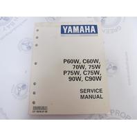 LIT-18610-01-82 Yamaha Outboard Service Manual P60W C60W 90W