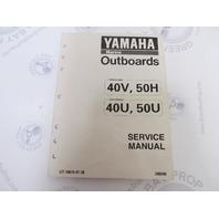 LIT-18616-01-38 Yamaha Outboard Service Manual 40-50 HP
