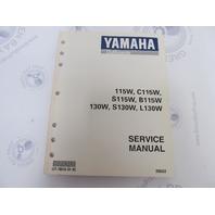 LIT-18616-01-92 Yamaha Outboard Service Manual 115 130 HP
