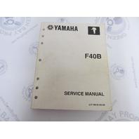 LIT-18616-03-04 Yamaha Outboard Service Manual F40B