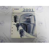 LIT-18865-00-01 2001 Yamaha Outboard Rigging Guide Manual