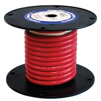 BATTERY CABLE WIRE-6 Ga. Red, 25'