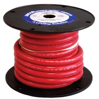 MARINE BATTERY CABLE WIRE-2 Ga. Red 25'