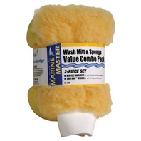 SPONGE/MITT COMBO VALUE PACK-Sponge & Mitt Set