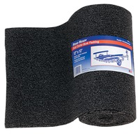 "MARINE TRAILER BUNK CARPETING-12"" X 12' Charcoal Padding"
