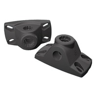 5011-7 Attwood Bi-Axis Rod Holder Mounting Base, Black