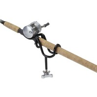 """SURE GRIP STEEL ROD HOLDER-10  Angle, 4"""" Stem, For Multi-Purpose Rods and Fishing"""