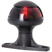 PULSAR  RAISED BASE SIDELIGHTS-Red Lens