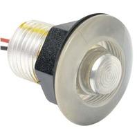 LED LIVEWELL AND BULKHEAD LIGHTS-White Lens for Sharp Detail