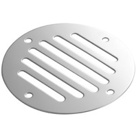 """STAINLESS STEEL DRAIN COVER, 3-1/4"""" dia."""