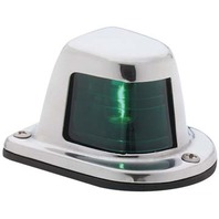 66319G7  Attwood 1-MILE STAINLESS STEEL SIDELIGHT-Sidelight, Green/Starboard