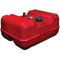 "ATTWOOD EPA/CARB COMPLIANT PORTABLE FUEL TANKS-12 Gallon w/Fuel Gauge, Low Profile, 24""L x 18""W x 11.61""H"