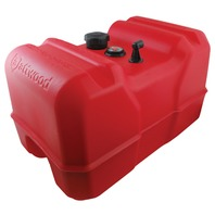 "ATTWOOD EPA/CARB COMPLIANT PORTABLE FUEL TANKS-12 Gallon with Fuel Gauge, 14.25""W x 22.75""L x 14.47""H"