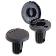 ROUND BASE FOR STRAIGHT LOCKING COLLAR POLES-3-Pin base for Straight Locking Collar Poles