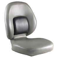 ATTWOOD CLASSIC FOLDING SEAT-Smoke/Charcoal