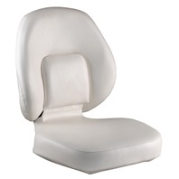 ATTWOOD CLASSIC FOLDING SEAT-White