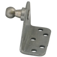 REPLACEMENT GAS SPRING MOUNTING BRACKET, STAINLESS STEEL-90 Bracket, 5 Mounting Holes