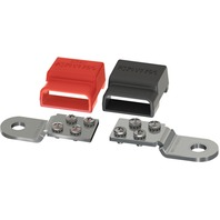 BATTERY TERMINAL MOUNT BUSBAR SET-Busbar Set, Pos/Neg, 100A