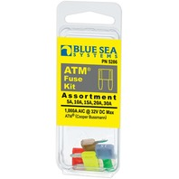 ATM MINI BLADE FUSE ASSORTMENT, 5-PIECE-ATM Fuse Kit, 5-Piece