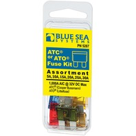 ATO/ATC FUSE ASSORTMENT, 6-PIECE-ATO/ATC Fuse Kit, 6-Piece