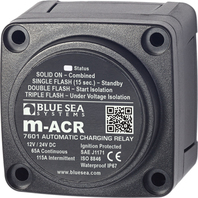 AUTOMATIC CHARGING RELAY, M-SERIES-m-Series Automatic Charging Relay - 12/24V DC 65A