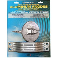 MARTYR ALUMINUM ANODE KIT for Yamaha 200-250 Hp