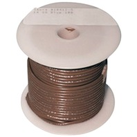 SINGLE CONDUCTOR TINNED MARINE PRIMARY WIRE, BULK-14 Ga Brown 100